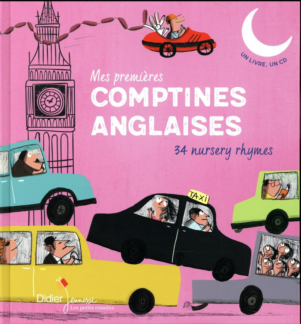 MES PREMIERES COMPTINES ANGLAISES - EDITION 2017